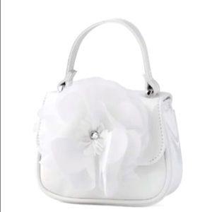 Girls Shimmer Flower Bag - Spring Jubilee